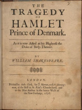 a look at the madness of prince hamlet in william shakespeares hamlet The question of hamlet's sanity  thus it appears that in every single instance in which hamlet's madness is manifested,  william hamlet, prince of denmark ed k.